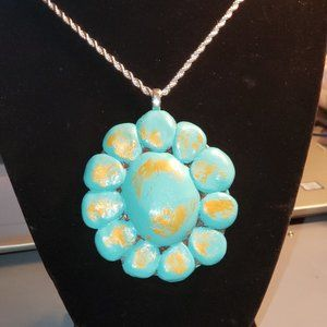 Beautiful Handcrafted Polymer Necklace